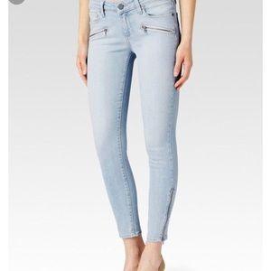 NWT PAIGE jeans sz 25 Jane zip Midrise skinny